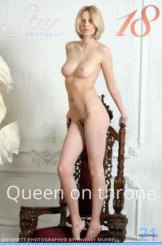 Stunning18 - Gwinnett - Queen on throne by Thierry Murrell
