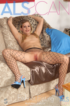 ALSScan - Leah Luv - Fishnet Fisting by Als Photographer
