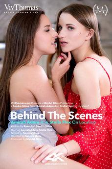 Behind The Scenes: Amirah Adara and Stella Flex On location