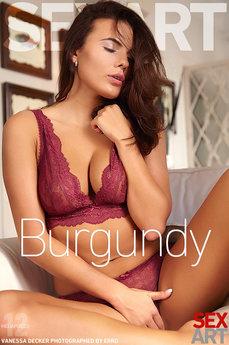 Sex Art - Vanessa Decker - Burgundy by Erro