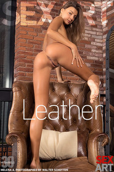 SexArt - Melena A - Leather by Walter Schotten