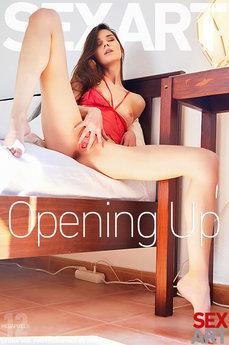 Sex Art - Leona Mia - Opening Up by Erro