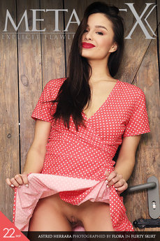 MetArtX - Astrid Herrara - Flirty Skirt by Flora
