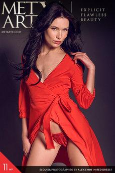 Met Art X - Elouisa - Red Dress 1 by Alex Lynn
