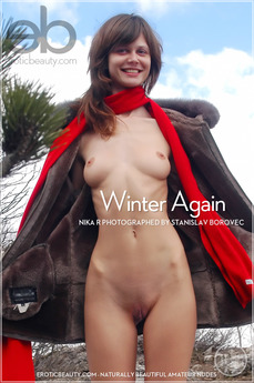 Erotic Beauty - Nika R - Winter Again by Stanislav Borovec