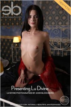 Erotic Beauty - Lu Divine - Presenting Lu Divine by John Bloomberg