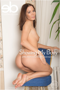 Erotic Beauty - April - Showing My Body by Stan Macias