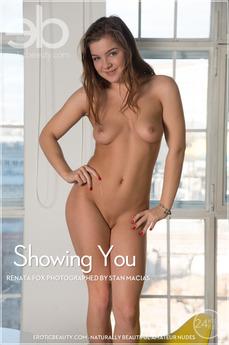 Erotic Beauty - Renata Fox - Showing You by Stan Macias