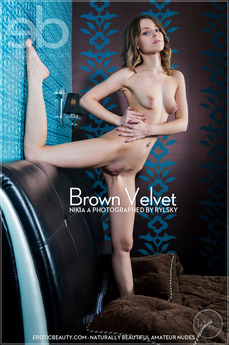 Erotic Beauty - Nikia A - Brown Velvet by Rylsky