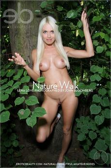 EroticBeauty - Lena Love - Nature Walk by John Bloomberg
