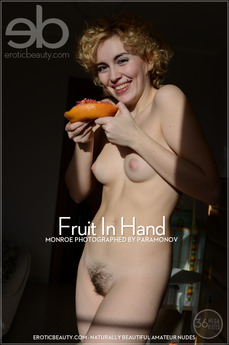 Erotic Beauty - Monroe - Fruit In Hand by Paramonov