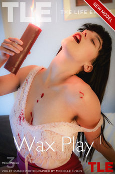 TheLifeErotic - Violet Russo - Wax Play 1 by Michelle Flynn