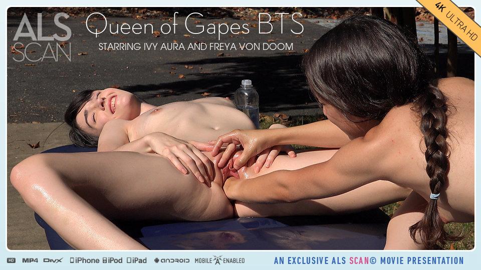 Queen of Gapes BTS