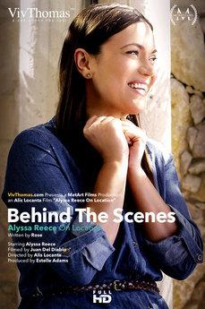 Behind The Scenes: Alyssa Reece on Location