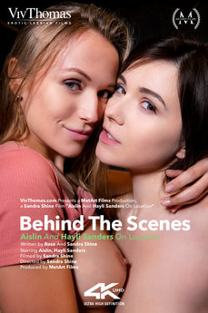 Behind The Scenes: Aislin & Hayli Sanders On Location