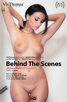 Behind The Scenes: Alyssia Kent on location