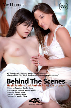 Behind The Scenes: Hayli Sanders And Amirah Adara On location