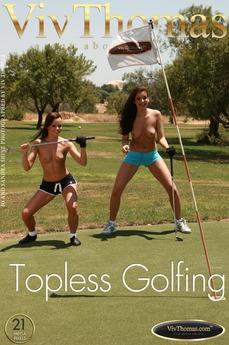 Topless Golfing