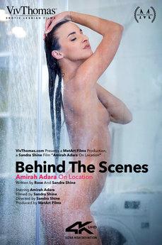 Behind The Scenes: Amirah Adara On Location