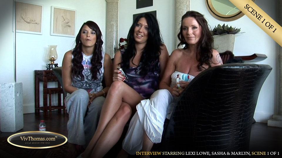 Lexi Lowe, Sasha & Marlyn interview