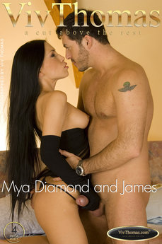 Mya Diamond and James Brossman