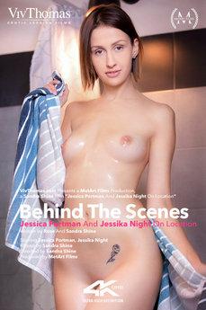 Behind The Scenes: Jessica Portman & Jessika Night On Location