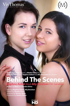 Behind The Scenes: Ally Breelsen And Daphne Anbel On Location
