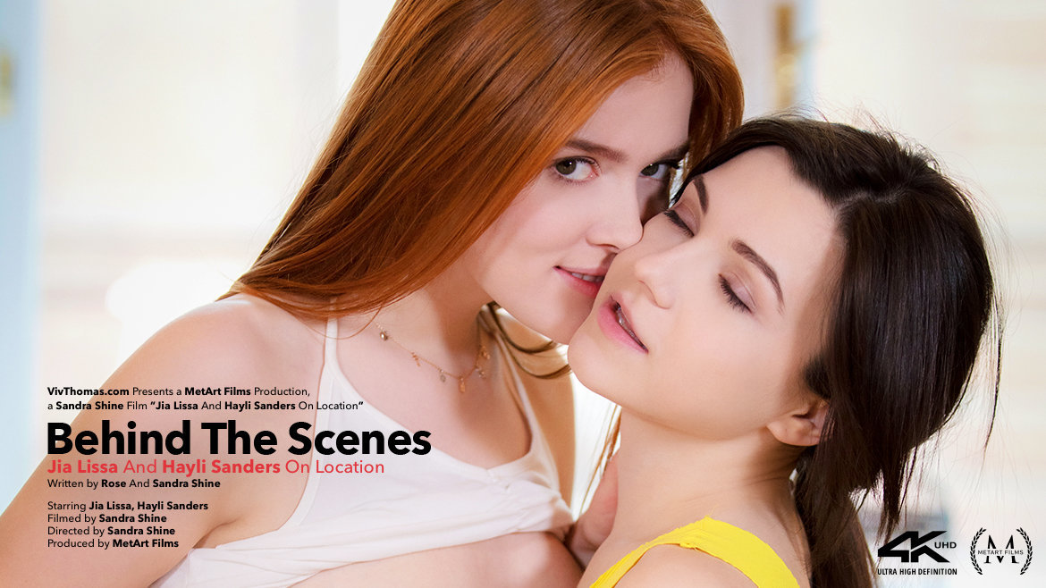 Behind The Scenes: Jia Lissa and Hayli Sanders On Location