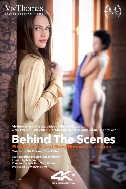 Behind The Scenes: Elina De Lion And Stacy Bloom On Location