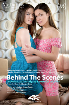 Behind The Scenes: Alyssa Reece & Lovenia Lux On Location