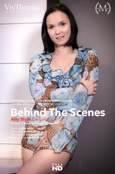 Behind The Scenes: Ally Style On Location