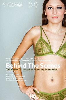 Behind The Scenes: Talia Mint shooting memories