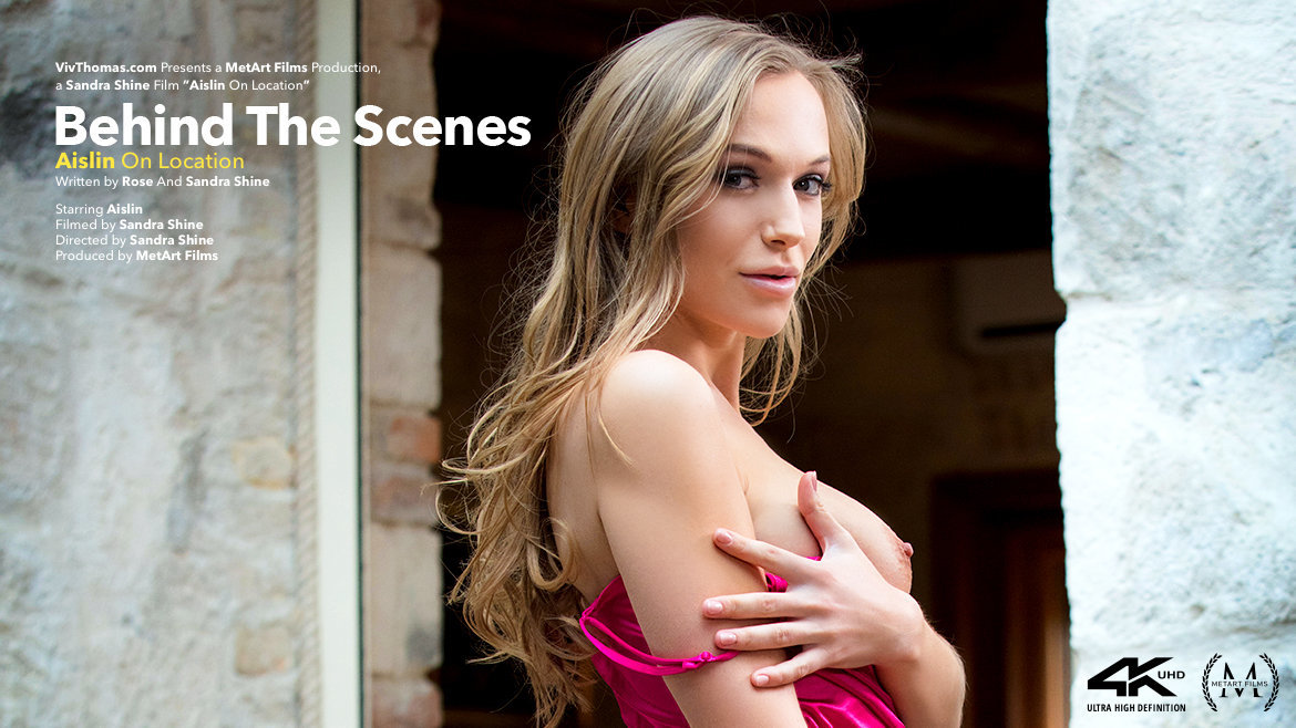 Behind The Scenes: Aislin On Location
