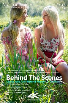 Behind The Scenes: Lovita Fate And Victoria Puppy On Location