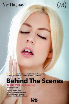 Behind The Scenes: Jessie Volt On Location