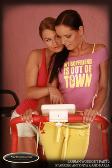 Lesbian Workout Part 2