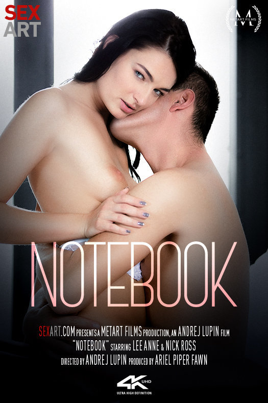 Notebook featuring Lee Anne,Nick Ross by Andrej Lupin