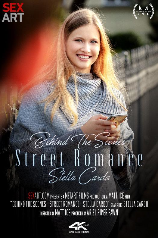 Behind The Scenes: Street Romance - Stella Cardo featuring Stella Cardo by Matt Ice