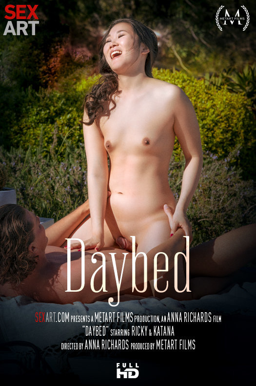 Daybed featuring Ricky,Katana by Anna Richards