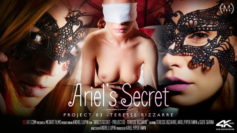 SexArt – Ariel's Secret – Project 3 Teresse Bizzarre – Suzie Carina, Teresse Bizzarre, Ariel Piper Fawn