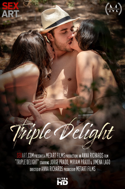 Triple Delight featuring Jimena Lago,Miriam Prado,Jorge Prado by Anna Richards