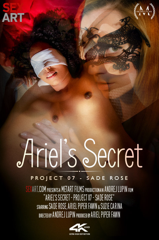Ariel's Secret - Project 7 Sade Rose featuring Suzie Carina,Sade Rose,Ariel Piper Fawn by Andrej Lupin