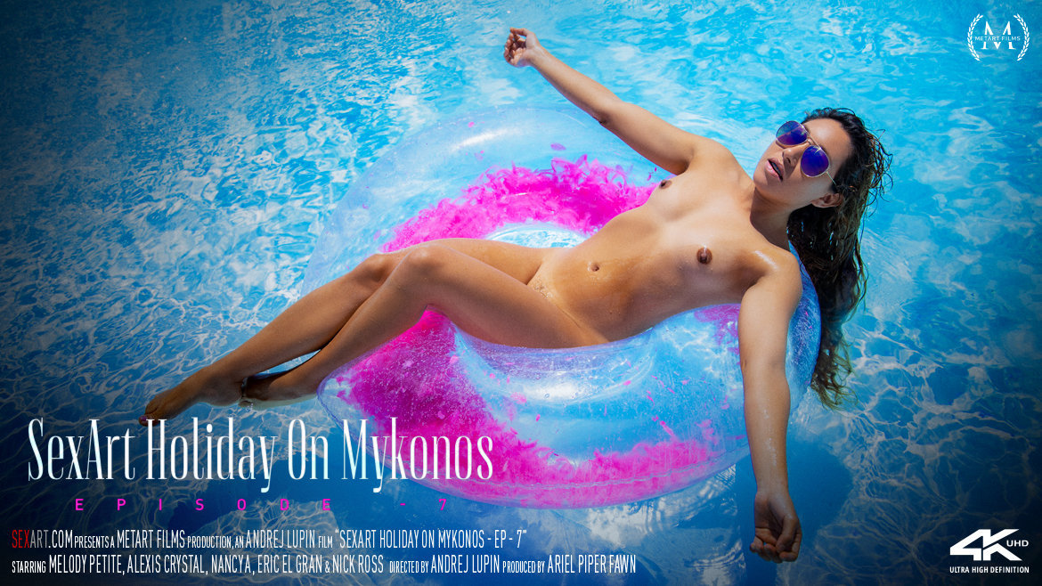SexArt Holiday On Mykonos Episode 7 – Alexis Crystal, Ariel Piper Fawn, Nancy A