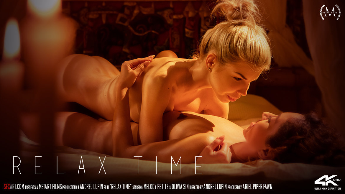 SexArt – Relax Time – Melody Petite, Olivia Sin