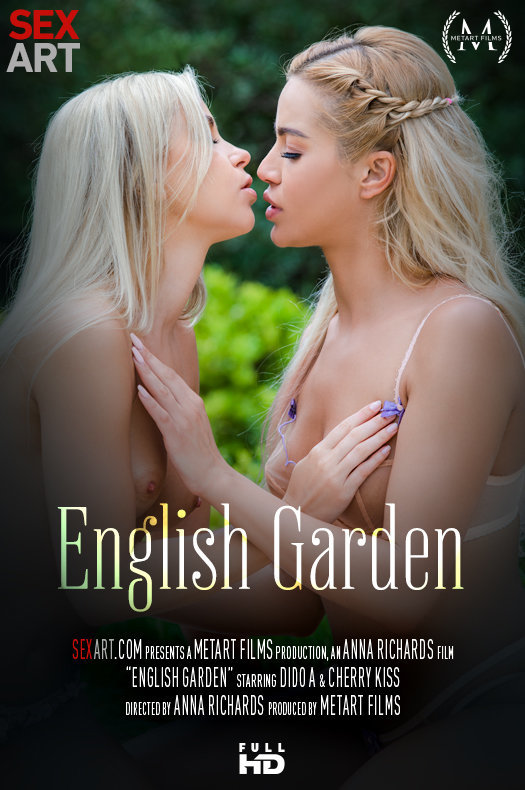 English Garden featuring Dido A,Cherry Kiss by Anna Richards