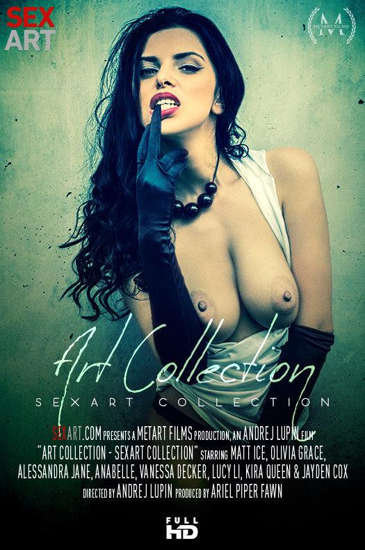 SexArt Collection - Art Collection featuring Anabelle,Matt Ice,Lucy Li,Kira Queen,Olivia Grace,Alessandra Jane,Jayden Cox,Vanessa Decker by Andrej Lupin