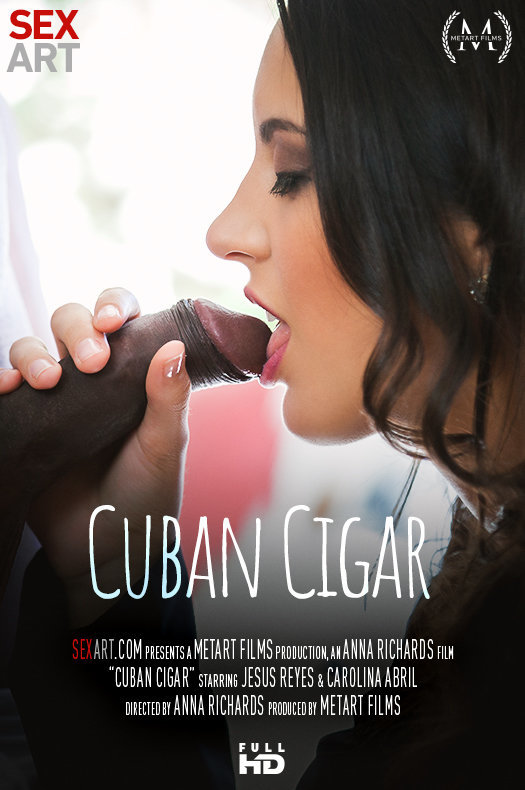 Cuban Cigar featuring Carolina Abril,Jesus Reyes by Anna Richards