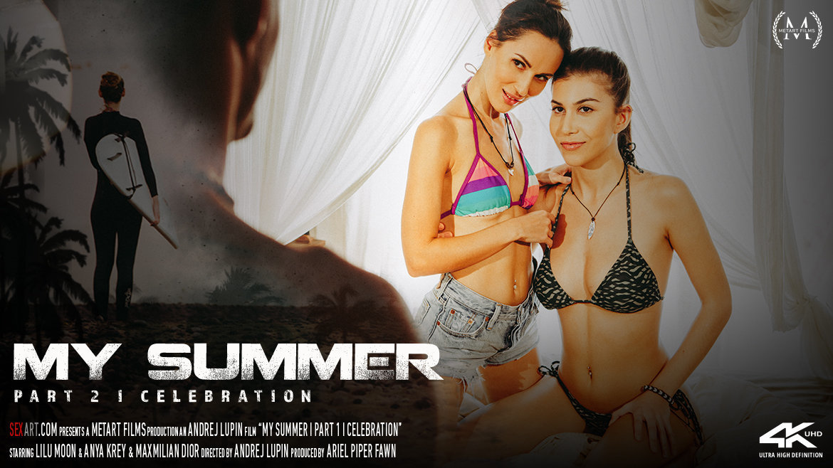SexArt – My Summer Episode 2 – Celebration – Alexis Crystal, Candice Demellza, Emylia Argan, Lilu Moon, Anya Krey