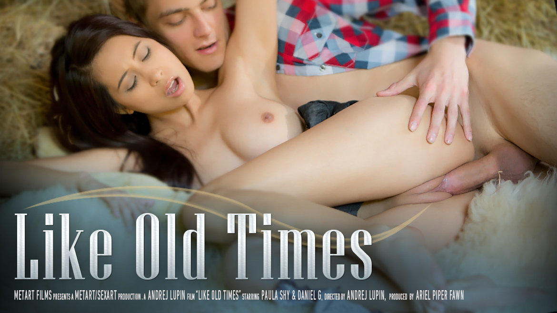 Times paula movie old shy like paula brunette outdoor blowjob teen young teeneger