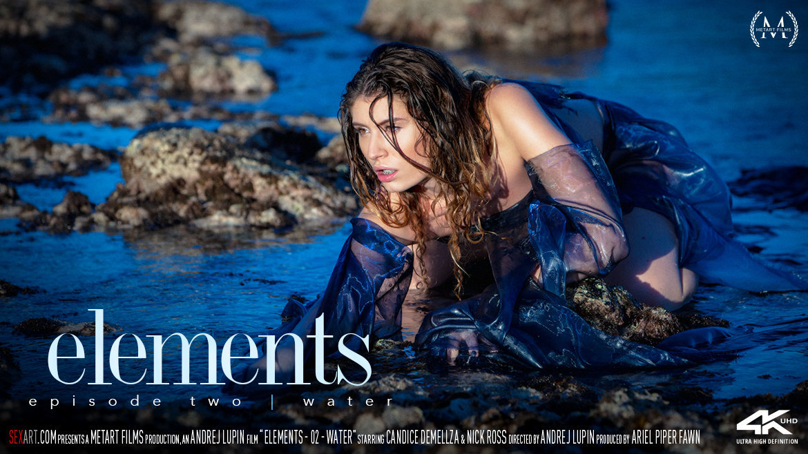 SexArt – Elements Episode 2 – Water – Candice Demellza